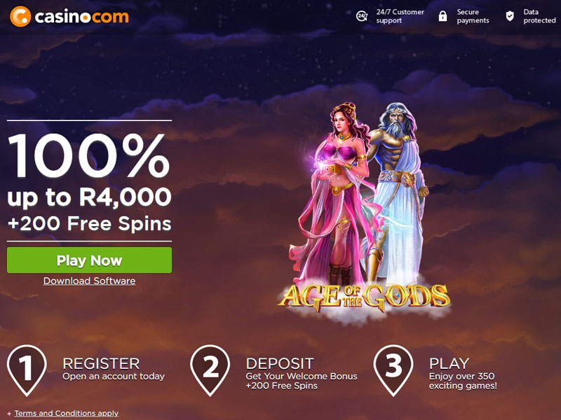 casinocom homepage