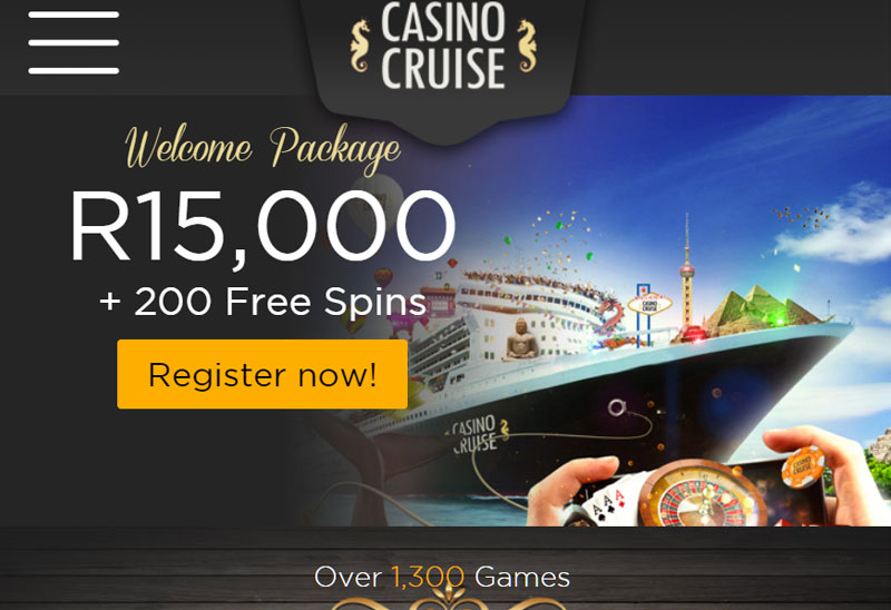 cruise casino homepage