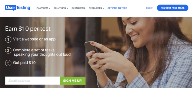 Make money online in South Africa by testing websites